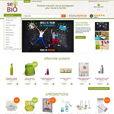 E-boutique Sébio